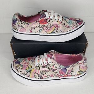 Vans Authentic Unicorn Donuts Cupcakes Toddler